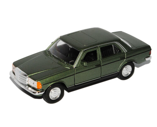Mercedes-Benz W123 E-Klasse Limousine Grün 1975-1986 ca 1//43 1//36-1//46 Welly Mod