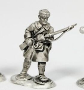 Roger-039-s-Rangers-in-Snowshoes-French-and-Indian-War-unpainted-28mm-FIW003