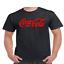 Coke-Coca-Cola-Logo-T-Shirt thumbnail 2