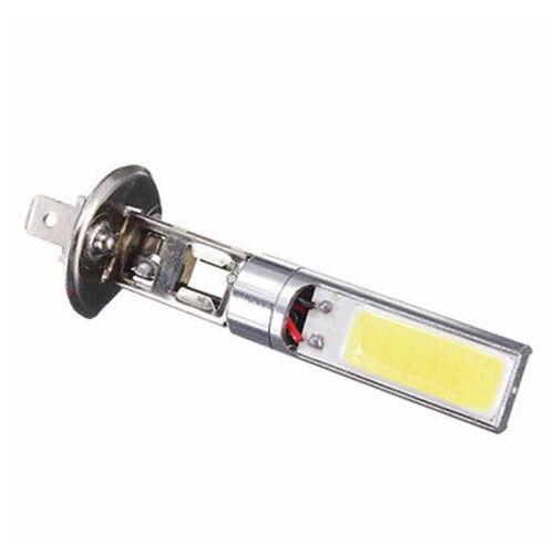 2x H1 COB LED Auto Nebelscheinwerfer DRL Tagfahrlicht Lampe Weiß EOC