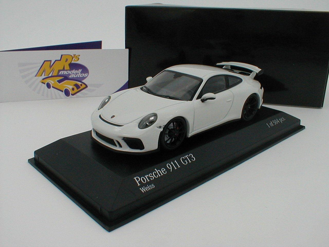 MINICHAMPS 410066025-Porsche 911 gt3 (991) Année 2017  BLANC    1 43 504 PC 431aa2