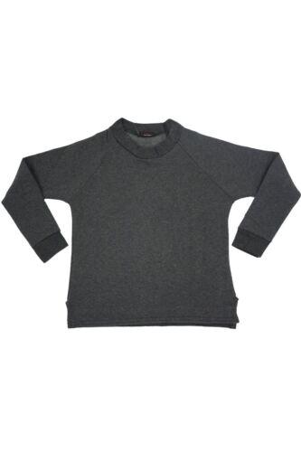 Kids Girls Sweatshirt Children Round Neck stretchy School Fleece Knit Jumper Top