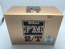 Nikon FM2/T Film Camera Body Year of the Dog Commemorative Edition FM2T