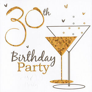 72 x 30th female birthday party invitations 30th party invites