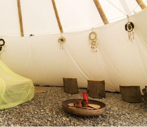 Ø 3m interno tenda Liner lining TIPI WIGWAM TENDA INDIANA