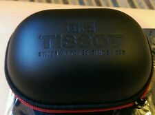 Tissot NEW LARGER SIZE watch storage/travel box and cushion.