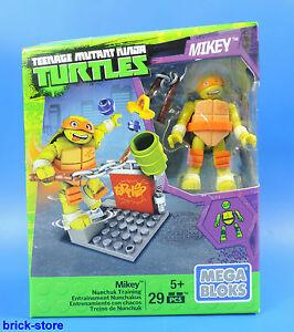 Mega-Bloques-Tortugas-Ninjas-Mutantes-Nunchuk-Entrenamiento-Mickey