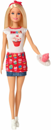 Barbie Doll I Can Be Cupcake Maker Career Doll New
