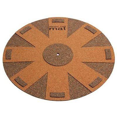 Music Hall Aztec Blue Record Enhanced Decoupling Cork Mat