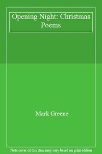 Opening-Night-Christmas-Poems-By-Mark-Greene