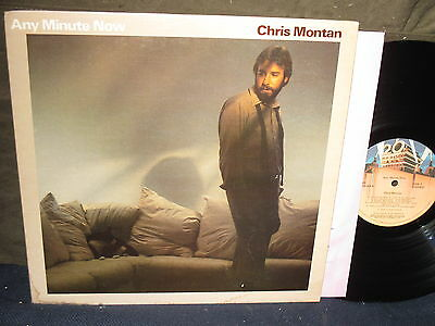 "Chris Montan ""Any Minute Now"" LP"