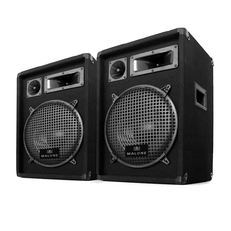 Enceinte DJ PA Passive 3 Voies DJ Pro pour Scène Disco Utilisable sur Trépied