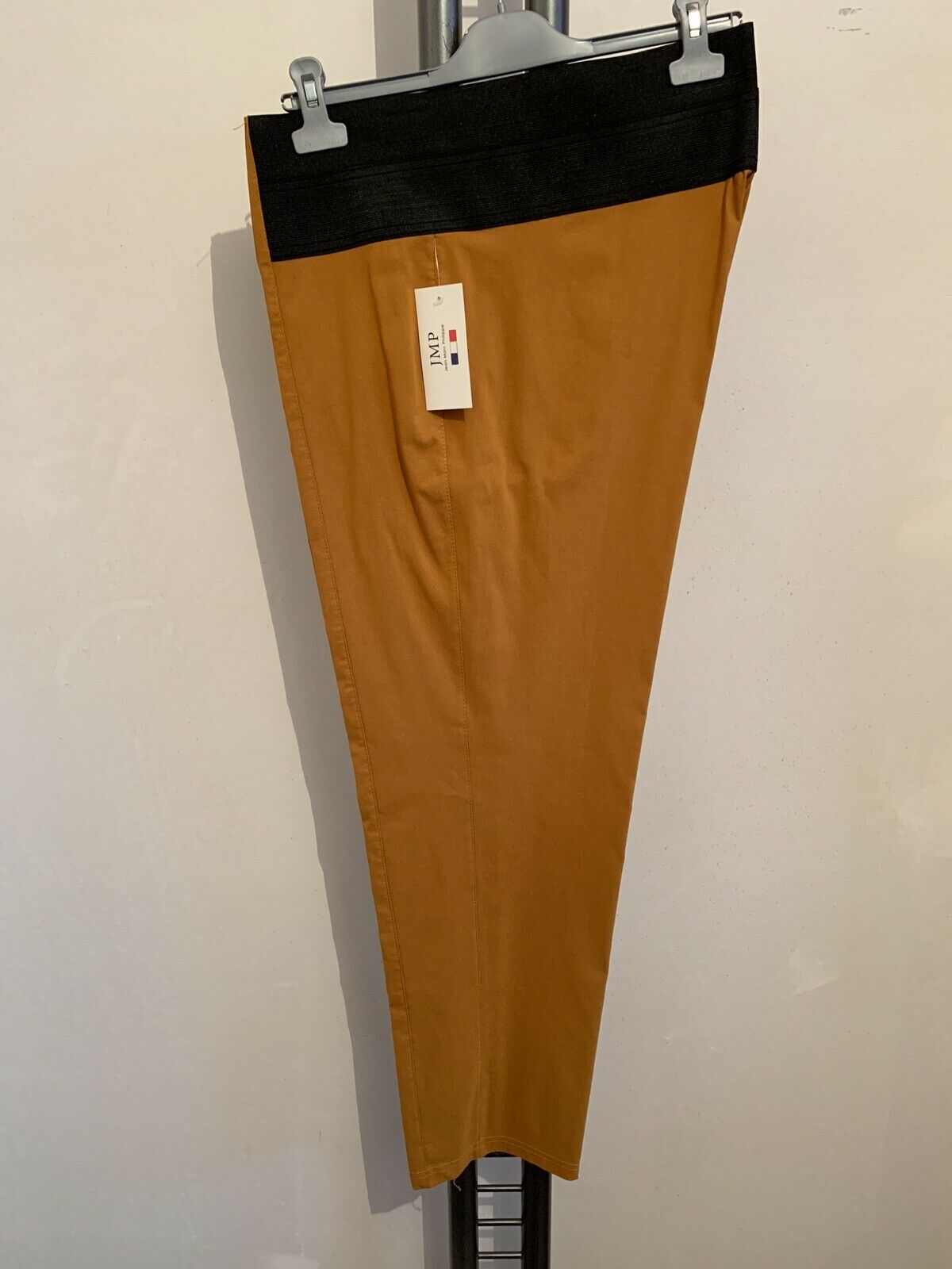 Jean Marc Philippe traumhafte Lagenlook-Hose, Gr 48 (T6), Farbe  Senf