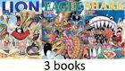 ONE PIECE Color Walk 3,4,5 set of 3 / Eichiro Oda / Art Book / Japanese Anime