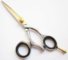 """6"""" Hairdressing Hair Cutting Scissors Swivel Ring Barber Shears"""