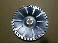 2 PCS 5 Inch Diamond Turbo Convex saw Blade Premium Granite Concrete Sink Cutter