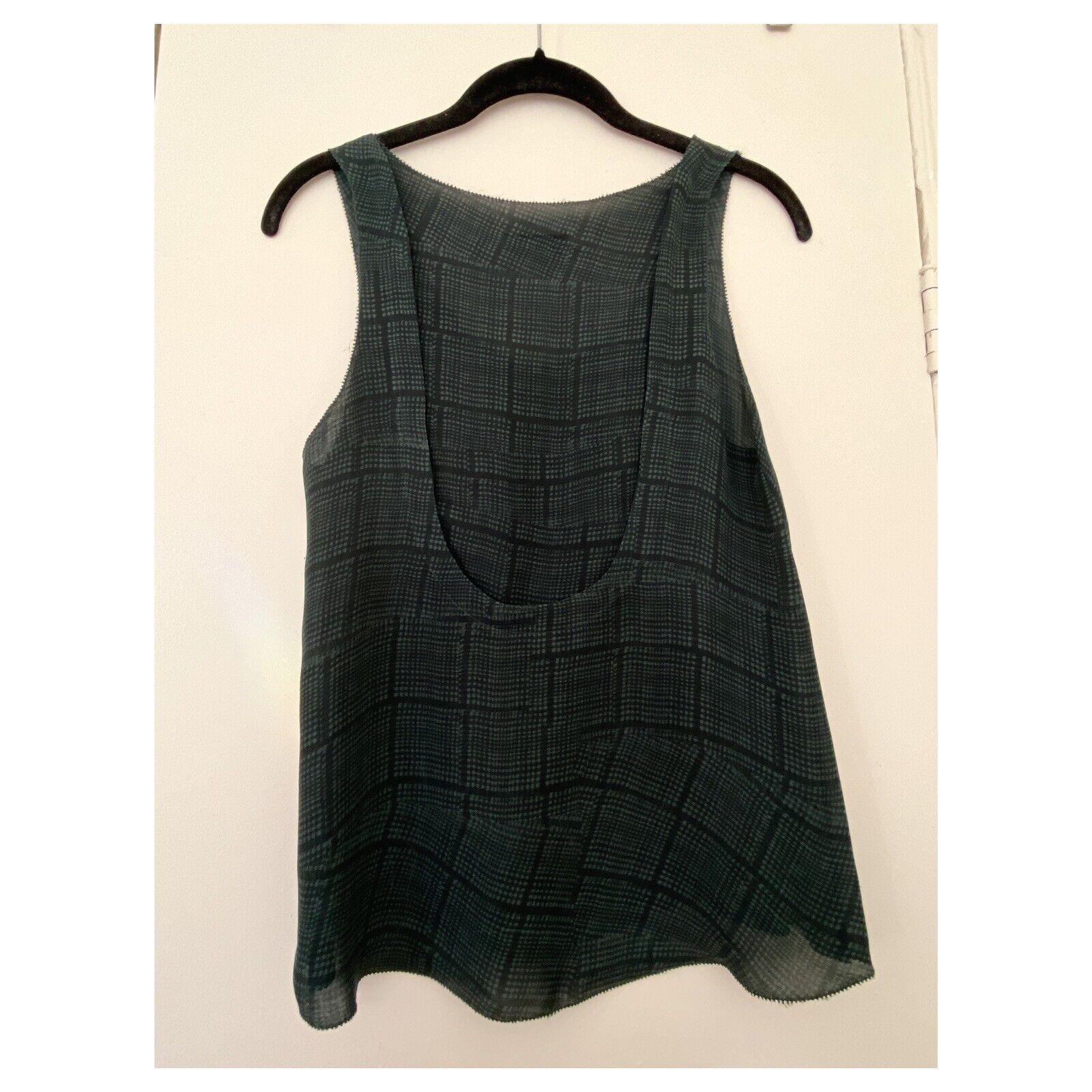 rag and bone silk blouse size 4 excellent conditi… - image 4