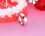 Anello-Anelli-Coppia-Fedi-Fede-Fedine-Fidanzamento-Acciaio-Cristallo-Paio-Regalo miniatura 6
