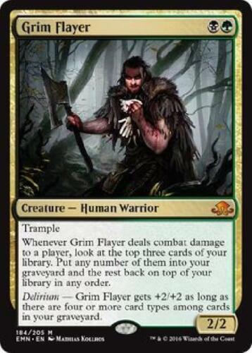 Grim Flayer 184//205 Light Play MTG Eldritch Moon EMN 2B3