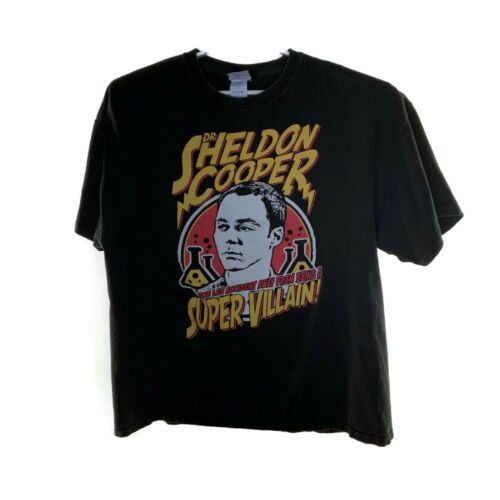 T-Shirt Big Bang Theory Sheldon Cooper One Lab Acc