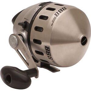 Zebco 888 Spincast Reel Pré-bobiné Avec 25lb. Ligne 3 Roulements 2.6: 1 Gear Ratio-afficher Le Titre D'origine