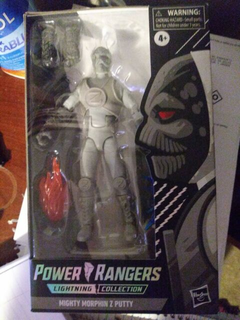 Power Rangers Spectrum Lightning Collection Mighty Morphin Z Putty 13C - NEW