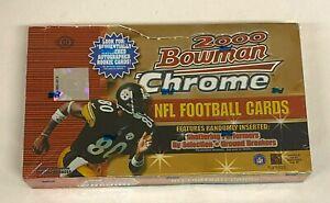 2000 Bowman Chrome Football Hobby Box Unopened Sealed - Tom Brady RC YR