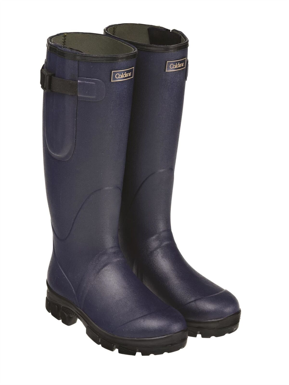 Caldene Westfield Wellies - Neoprene Lined - Green - BN