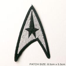 STAR TREK - Classic Command Crew Insignia Patch SILVER!