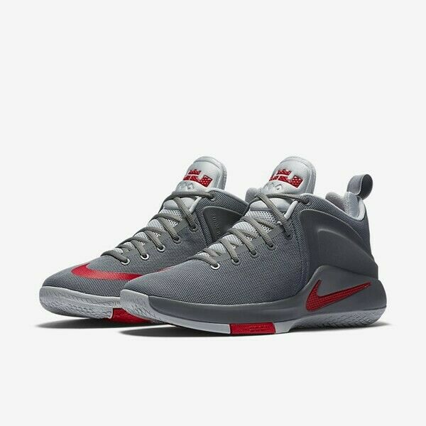 newest collection 9635f 52e42 Nike Zoom Zoom Zoom Witness LeBron James COOL GREY UNIVERSITY RED SOLDIER  852439-005 710229