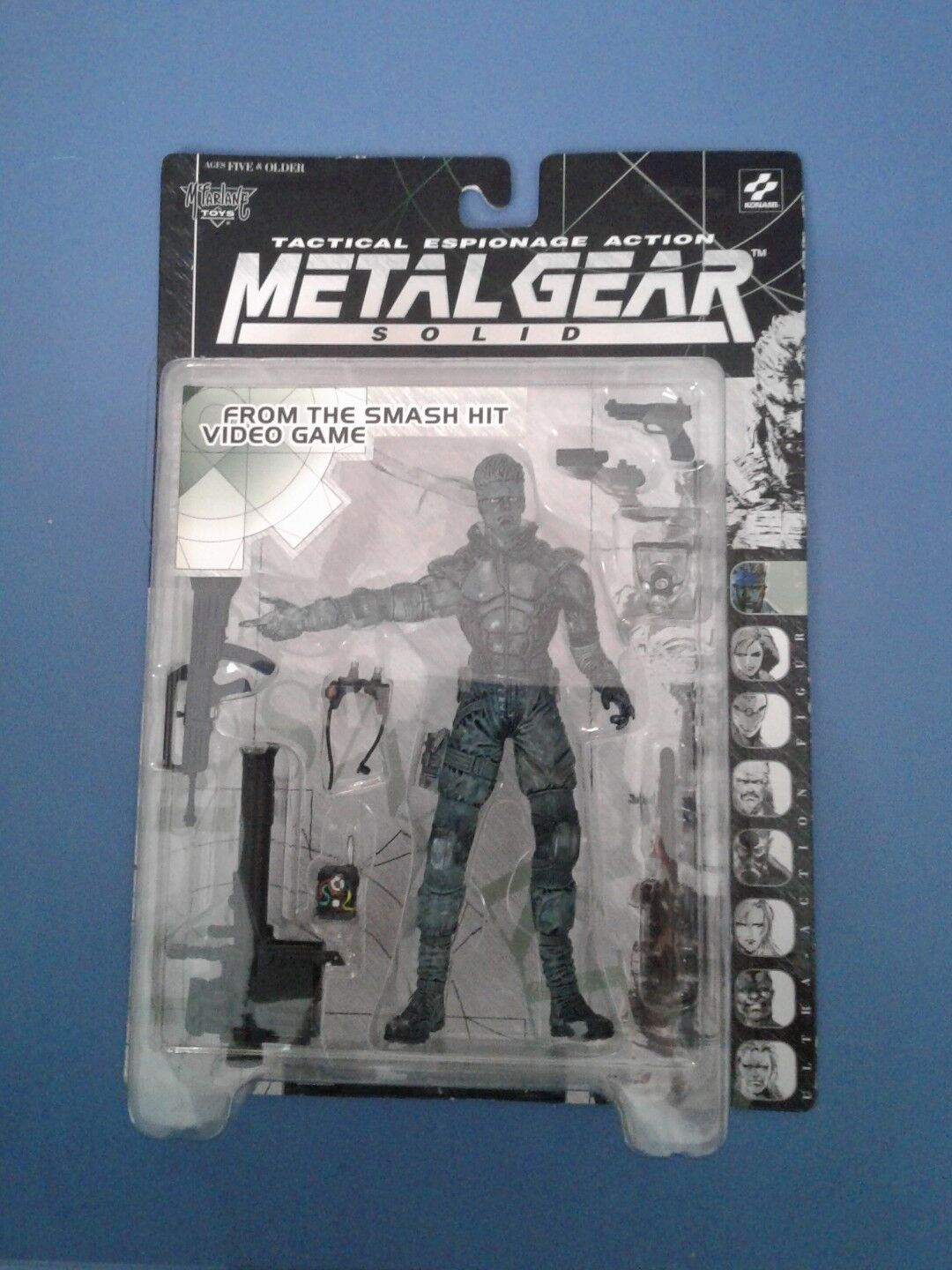 Metal Gear Solid Translucent Solid Snake MIB