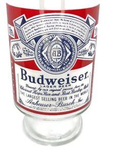 "1 Vintage Budweiser ""King of Beers"" 28 Oz Beer Glass / Footed Glass"