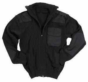negro militar polar con jersey ejército lana estilo de completa de nuevo Top cremallera Rebeca wdFPnOq8Xq