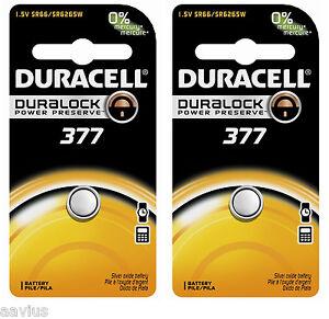 Duracell-377-SR66-SR6265W-1-5V-Watch-Battery-for-Bulova-Seiko-Citizen-Vinnic-2PK