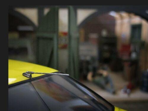 Opel Manta Metall Dachantenne Antenne Umbau Tuning Zubehör für Modellauto 1//18