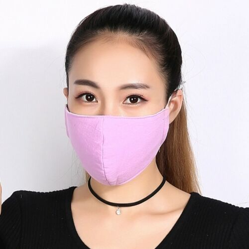 Washable Earloop Mask Cycling Anti Dust Mouth Face Mask Activated Carbon Filter