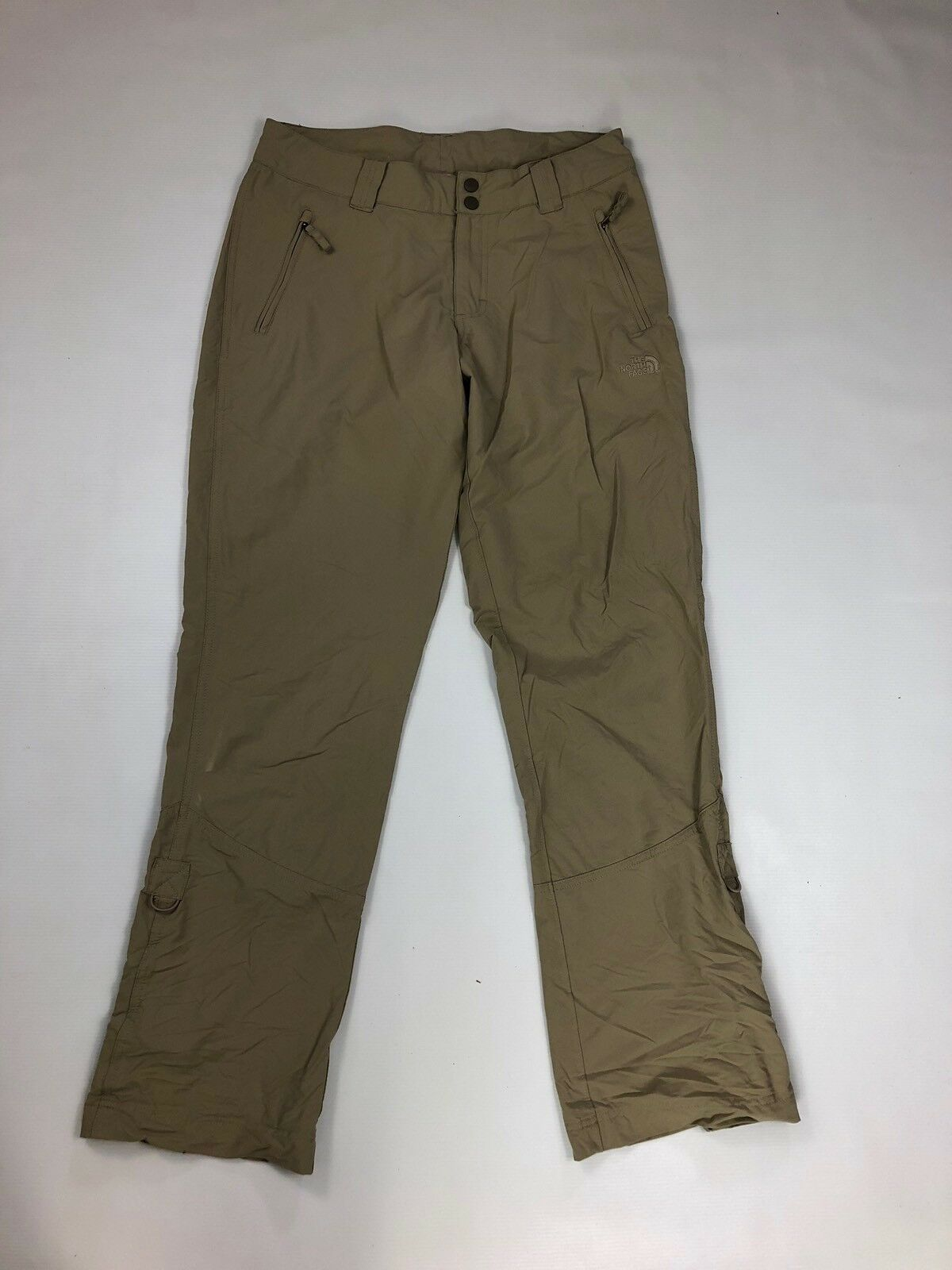 THE NORTH FACE WALKING Trousers - UK12 L32 - Beige - Great Condition - Women's