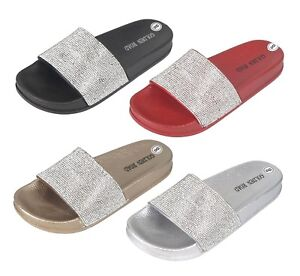 681b5af93 Women s Slide Sandals Rubber