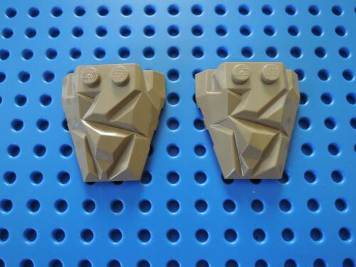 LEGO 2 X keilstein Rochers 64867 Polygone 4x4 Foncé Beige Dark Tan