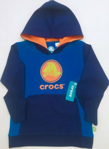 Pullover Ages 2 4 5 6 7 8 10 USA Import RRP $30 Crocs shoes Hoodie Boys Zip