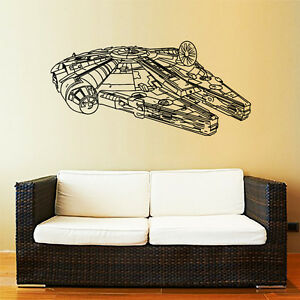 Captivating Image Is Loading Millennium Falcon Wall Decal Star Wars Vinyl Decal