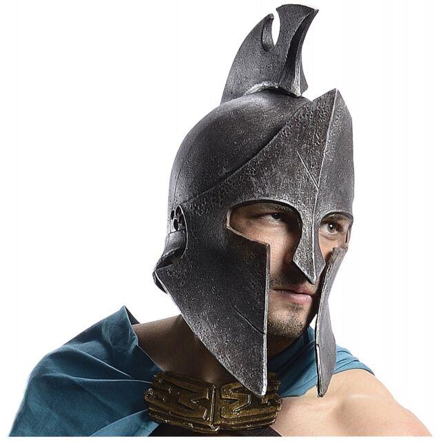Greek Helmet Themistocles Costume 300 Spartan Warrior Halloween Fancy Dress  sc 1 st  eBay & 300 Rise of The Empire Spartan Warrior Themistocles Helmet Costume ...