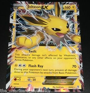 Jolteon EX 28 83 XY Generations Ultra RARE Holo Near Mint ...