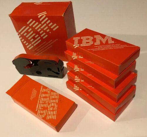 Lot of 6 IBM High Yield Correctable Film Ribbon Black 1299095 NOS Case Pack