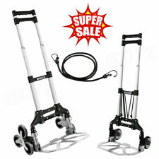 Heavy Duty Stair Climber Hand Truck Dolly Cart Trolley With Telescoping Handle