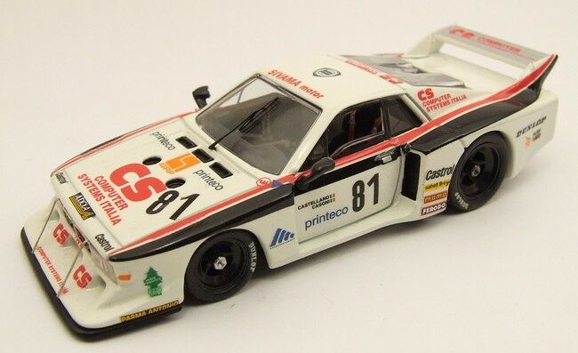 MODEL BEST 9349 - LANCIA BETA TURBO MONZA 1982 N°81 - 1 43