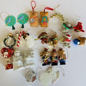 AVON-Huge-Lot-of-23-Vintage-Christmas-Ornaments-some-sets
