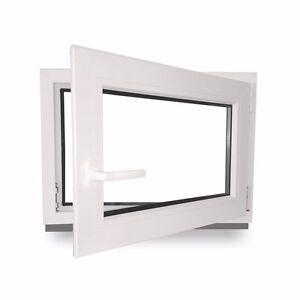 Großartig Kunststofffenster Kellerfenster 70mm Profil DrehKipp 1000x600 mm  DV31