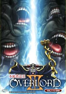 Details about DVD Anime OVERLORD Season 3 TV Series (1-13 End) English  Audio Dub All Region