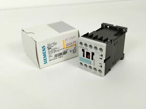Used Siemens 3rt1015-1ab02 Contactor 24v 50//60hz